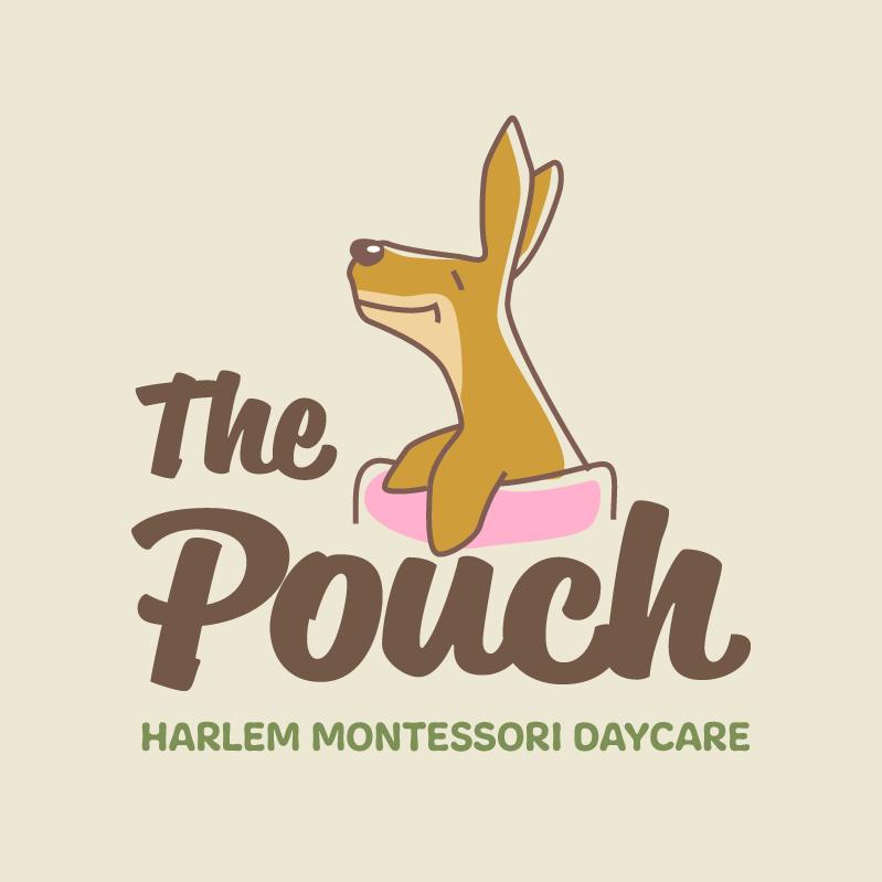 The Pouch Logo - concept 2