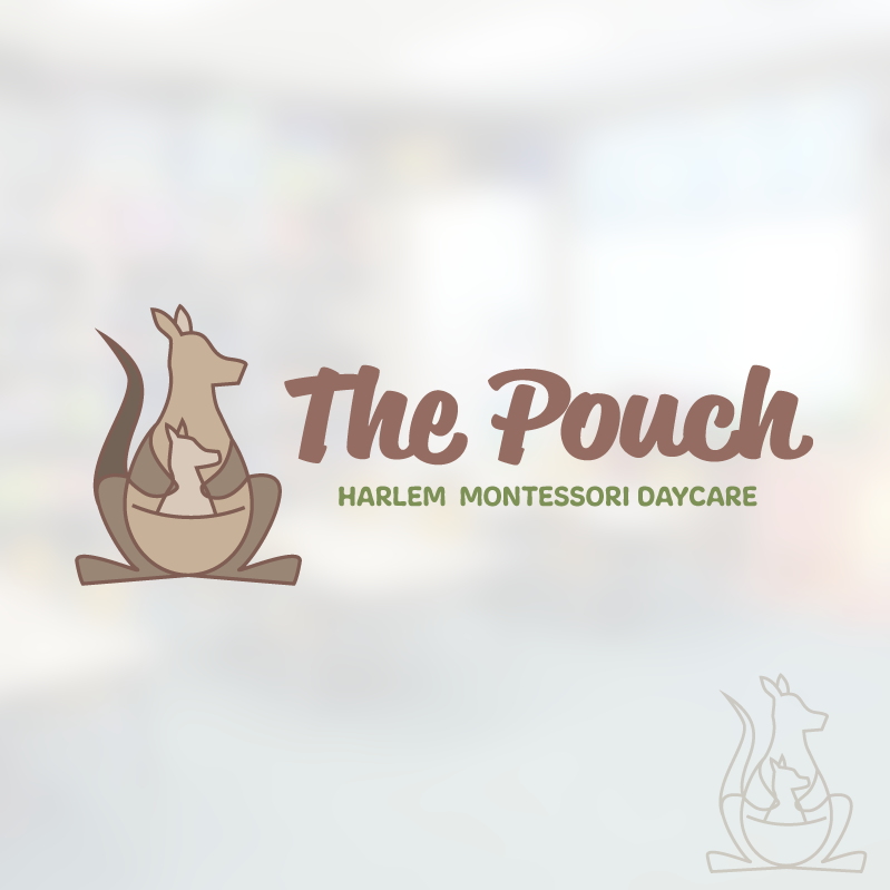 The Pouch Logo - concept 3