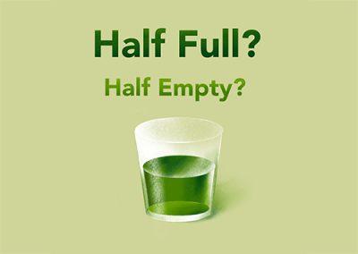 Half Full, Half Empty?